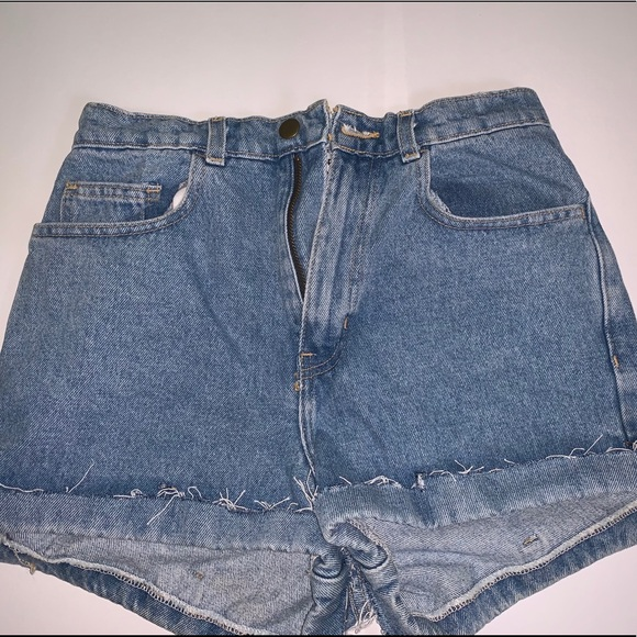 American Apparel Pants - American apparel jean shorts